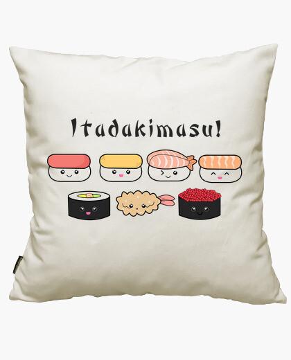 Itadakimasu! cushion cover