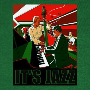 Camisetas It's Jazz (greened)