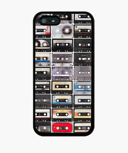 Coque iPhone iv rétro cassettes