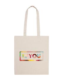 I#YOU bolsa blanca