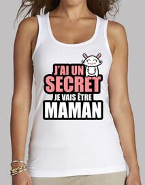 j'ai un secret je vais être maman