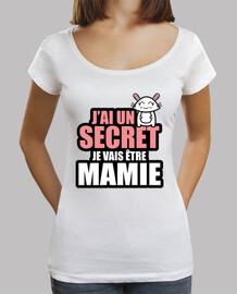 j'ai un secret je vais être mamie