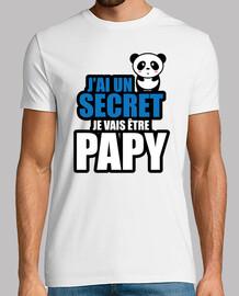 j'ai un secret je vais être papy