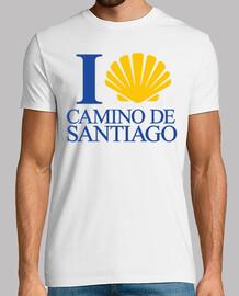 j'aime la chemin à santiago