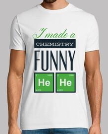 j39ai fait une chimie drôle il