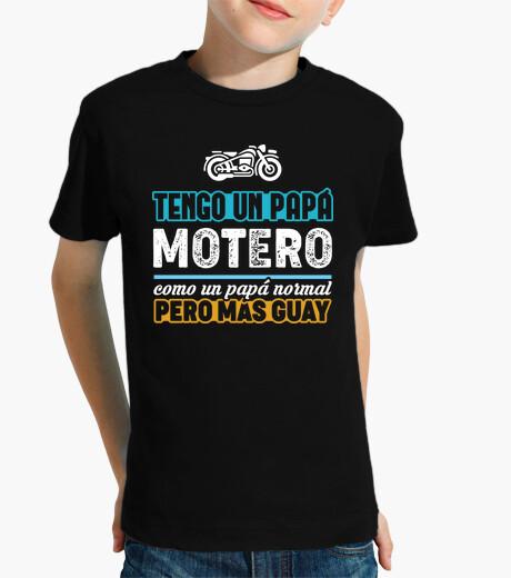 Vêtements enfant J39ai un papa motard