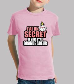 J'ai un secret je vais être grande soeur