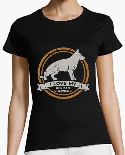 Tee-shirt j39aime mon berger ger man - berger all