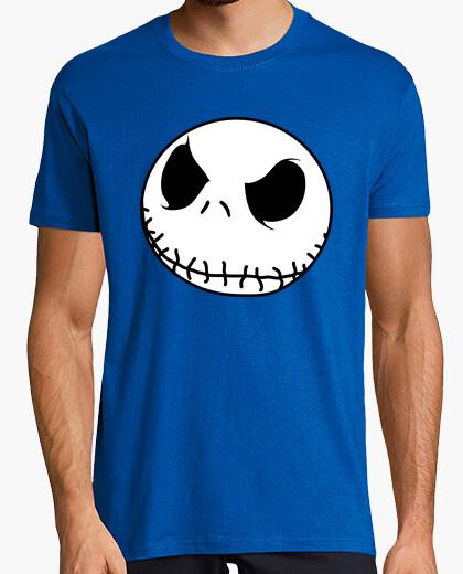 Camiseta Jack Skellington Cara Chico