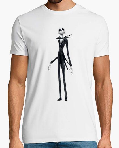 Camiseta Jack Skellington Casual Chico