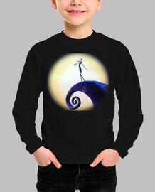 Jack Skellington Luna Camiseta