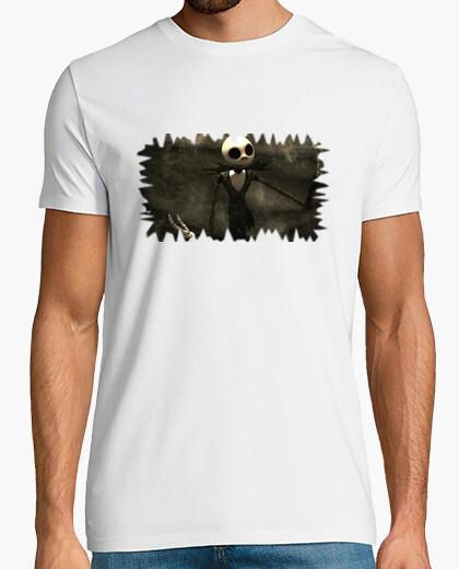 Camiseta Jack Skellington Vintage Chico