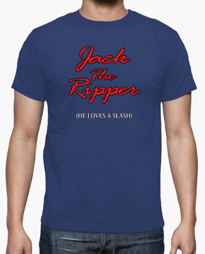 Jack The Ripper - He Loves A Slash t-shirt