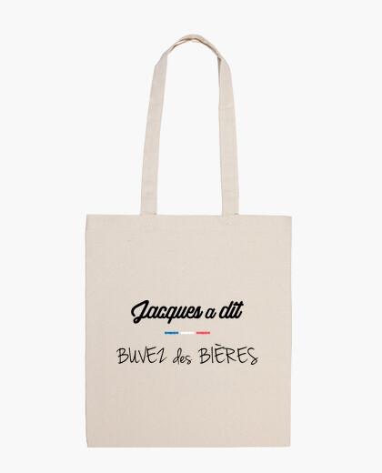 Bolsa Jacques dijo beber cervezas