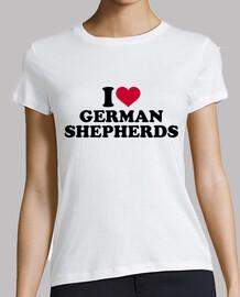 j'adore les bergers allemands