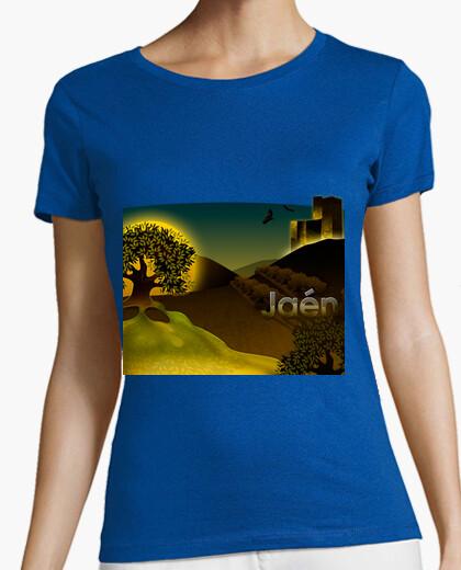 Camiseta Jaén Tirantes Chica