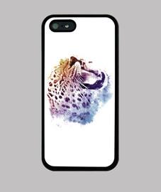 Jaguar Salvaje, Funda iPhone 5 / 5s, negra