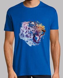 Jaguar Salvaje, Hombre, cuello pico.