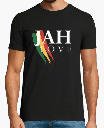 Camiseta JAH LOVE WHT
