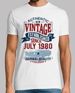 Jahrgang sesie Juli 1980