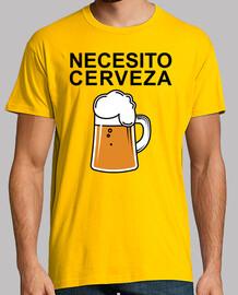 J'ai besoin de la bière