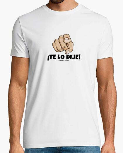 Tee-shirt j'ai dit (lettres noires)