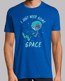 J'ai juste besoin d'espace extr