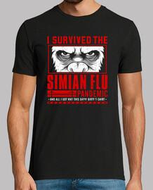 j'ai survécu à la pandémie de la grippe simienne