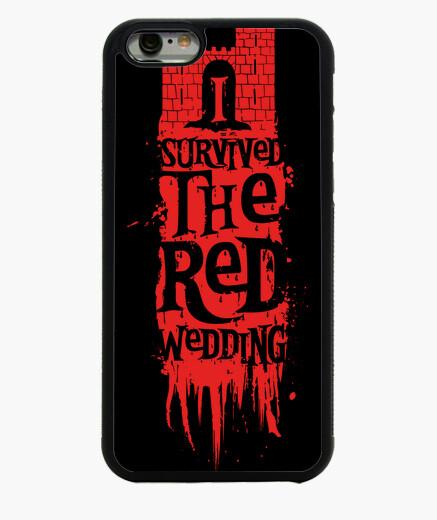 Coque Iphone 6 / 6S j'ai survécu au mariage rouge