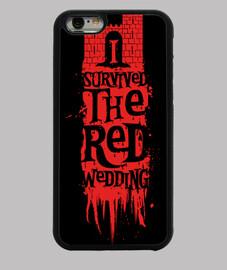 j'ai survécu au mariage rouge