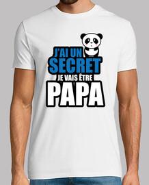 j'ai un secret je vais être papa