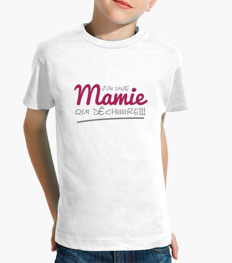 Vêtements enfant J'ai une Mamie qui déchire
