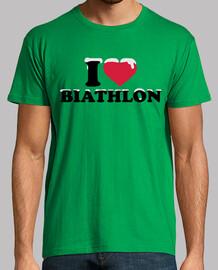 j'aime biathlon neige