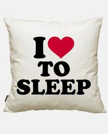 j'aime dormir
