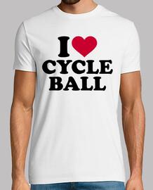 j'aime la balle de cycle