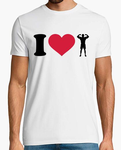 Tee-shirt J'aime la musculation