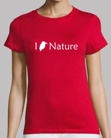 j'aime la nature (blanc - femme)