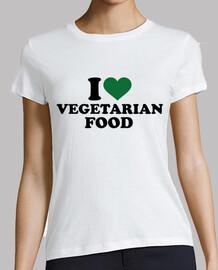 j'aime la nourriture végétarienne