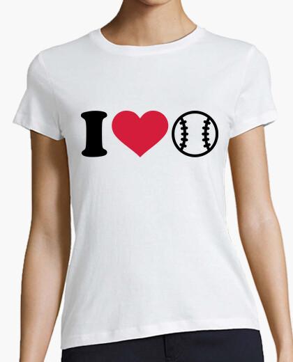 Tee-shirt j'aime le baseball