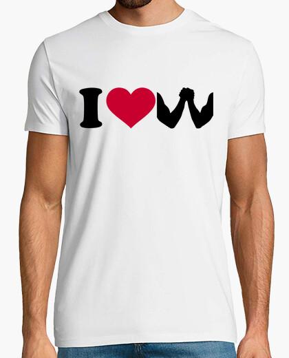 Tee-shirt j'aime le bras de fer