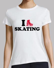 j'aime le patinage