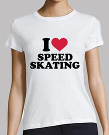j'aime le patinage de vitesse