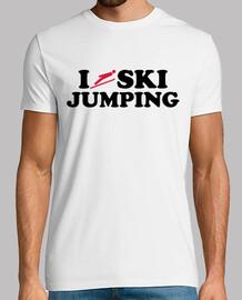 j'aime le saut à ski