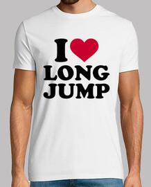 j'aime le saut en longueur