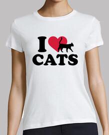j'aime les chats