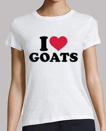 j'aime les chèvres