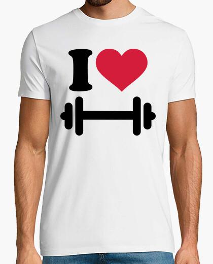 Tee-shirt J'aime les haltères