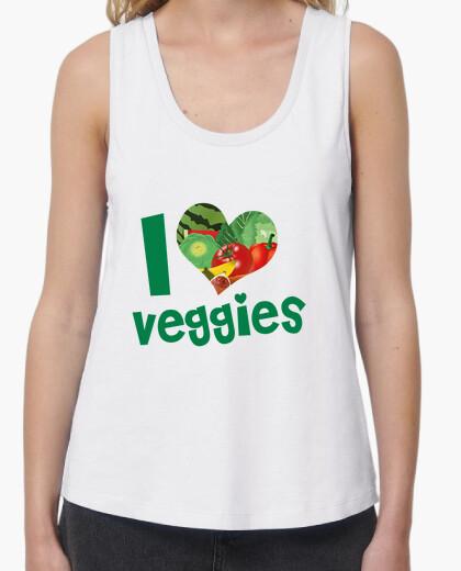 Tee-shirt j'aime les légumes