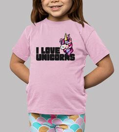 j'aime les licornes