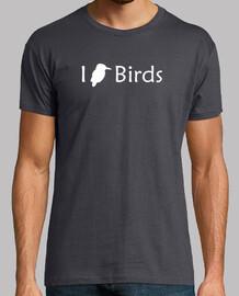 j'aime les oiseaux (blanc - homme)